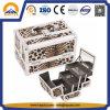 메이크업 허영 트레인 상자 (HB-2012)를 인쇄해 유행 표범