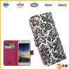 Caja barata del cuero del teléfono móvil para el iPhone
