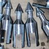 Point de fer de lance de Pq pour le baril de noyau