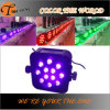 12PCS Wireless Battery Operated Flat PAR LED