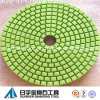 Color verde Economy Diamond Polishing Pad Wet Use para Granite