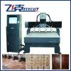 A máquina do CNC com única linha central de Z estrutura a máquina de gravura de madeira de quatro eixos