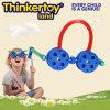 Brinquedos do conjunto dos vidros do bloco da inteligência