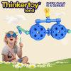 Игрушки малышей воспитательные крытые пластичные в стеклянной форме