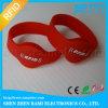 Wristband tecido RFID do bracelete de Ntag213 NFC para o festival do evento