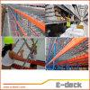 El panel del Decking del acoplamiento de alambre de la alta calidad para el estante del almacenaje