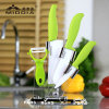 el cuchillo de cocina de cerámica 5PCS fijó con el sostenedor para el producto del hogar/de la cocina