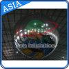 屋外の生きているコンサートの装飾のスライバはショーのための膨脹可能なミラーの気球を反映する