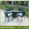 余暇の庭Furniture Wicker Outdoor Rattan Dining TableおよびChair