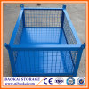 Wire Mesh Storage Foldable Stackable Metal Pallet Cage