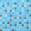 プールの浴室のためのクリスタルグラスのモザイク