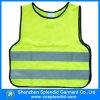 Het hoge Vest van de Kinderen van het Verkeer van de Veiligheid van het Zicht met Weerspiegelend Materiaal