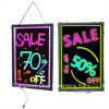 Diodo emissor de luz Hand Writing Boards para Shop Advertizing Display