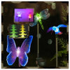 Diodo emissor de luz Solar Fairy Christmas Stick Light para o jardim Decoration de Outdoor