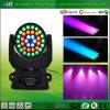 Hochtechnologie gebildet in beweglicher Hauptwäsche-Lampe China-54PCS LED