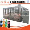 Máquina de rellenar carbonatada en botella 3 in-1 automática de la bebida del precio confiable