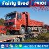Ladender verwendeter 8X4 Sinotruck HOWO Speicherauszug-Lastkraftwagen mit Kippvorrichtung nach den Kongo