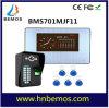 7  видеоий Doorphone опознавания фингерпринта записи HD 1000tvl DVR LCD