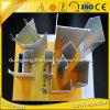 Scanalatura a u di alluminio 6063 T5 per il locale senza polvere di alluminio puro