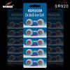 Batterie argentée de montre de cellules de bouton de l'oxyde 370 Sr920