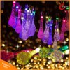 20/30 LED Water Drop Solar Powered String Lights LED Fairy Light para casamento de casamento Festival de festa de Natal Outdoor Decoração interior
