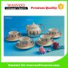 Traditioneller Entwurfs-modernes Porzellan-Kaffee-Set-Tee-Set mit Cup u. Saucers