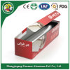 Haushalts-Aluminiumfolie-Rolle mit Papierpaket-Farben-Kasten