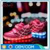 Chaussures occasionnelles des chaussures en gros DEL de qualité pour des enfants