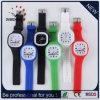 Reloj de la jalea de la pulsera del silicón de los relojes de la Navidad de la muñeca del deporte del regalo (DC-977)