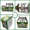 Caixa de empacotamento do animal de estimação do cartão ondulado com punho