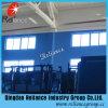 Escuro - vidro azul para o edifício e a parede
