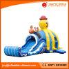 プール(T11-501)が付いている膨脹可能な多重タコ水スライド