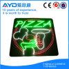 Hidly 정연한 환경 보호 피자 LED 표시