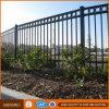 Panneaux en acier de frontière de sécurité de jardin de tube de grand dos enduit de garantie de poudre