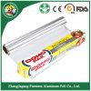 Papel de aluminio del hogar de la buena calidad Rolls para el envasado de alimentos