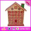 Calendario di legno del giocattolo del bambino all'ingrosso 2016, calendario di legno del giocattolo dei capretti divertenti, calendario di legno W02A183 del giocattolo dei bambini caldi di vendita
