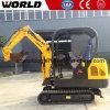Mini máquina escavadora de China 1.8ton com certificado do Ce