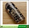 Forma e etiqueta personalizada de venda quente do metal do frasco de vinho