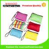Mini Madame colorée de polyester de tissu Cosmetic Bag avec la tirette