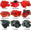 Partes del motor de Cummins / Deutz para las piezas de Cummins / piezas de Deutz 4b / 6b / 6c / 6L / Nta855 / K19 / K38 / K50 / 226/912/913/413/513/2012.