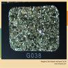Glitter agradável do couro do plutônio da qualidade para sacos e sapata
