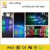 Im Freien Zeichen-Gelb-Farbe des Verschieben- der BildschirmanzeigeP10 der Meldung-LED bewegliche