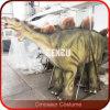 Gehen mit Dinosaurier-Stütze-Verkaufs-Kostüm-gehenden Dinosaurieren