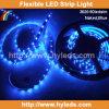 Tira flexible de la luz del color azul SMD LED (HY-SMD3528-60-B)