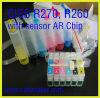 Sistema di rifornimento Ciss-Continuo dell'inchiostro (R270, R260, R265, C79, D78)