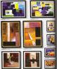 BePicture/sandália Es-W4732 do ach quadro da foto (PF-0011)