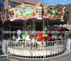 Езды Carousel оборудования парка атракционов веселые идут круг