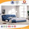 Кровать спальни мебели европейского типа королевская деревянная домашняя (UL-FT813A)