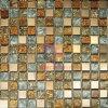 Vidrio Laminado y mosaico de acero inoxidable (CFM755)