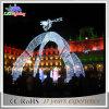 Überlegener Feiertags-lebendes Licht-Weihnachtsdekoration-Winkel-Motiv-Bogen-Licht
